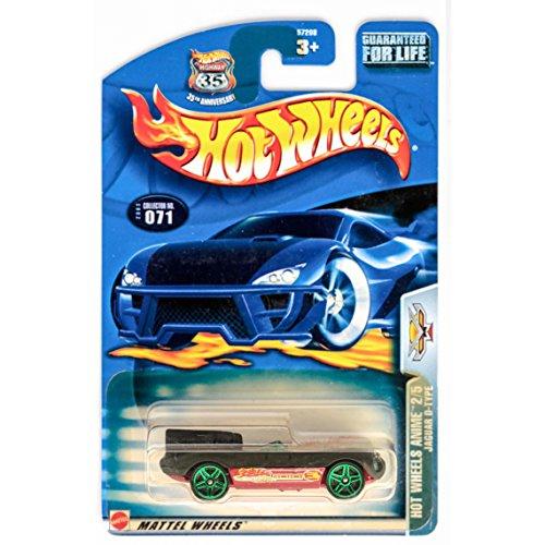 Hot Wheels 2003 Anime Jaguar D-Type 2/5 Gray #71 #071 1:64 Scale