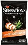 Walkers Sensations Roast Chicken and Thyme 175 g (Pack of 12)