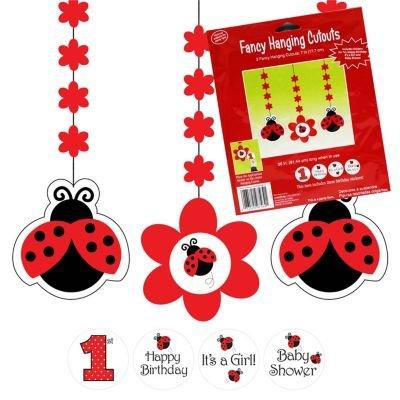 Ladybug Danglers front-557399