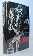 On Arts and Artists by Auguste Rodin