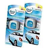 Febreze  Air Freshener, Car Vent Clip Air Freshener,  New Car Air Freshener, 2 Count