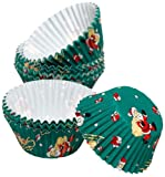 Kaiser Bakeware Patisserie Muffin Liner Santa Claus, Small