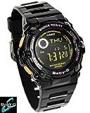 カシオ ベビーG レディース腕時計 Reef '09AUTUMN/WINTER BG-3000A-1DR ブラック●並行輸入商品●