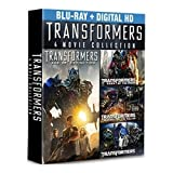Transformers Complete 4-Movie Collection (Blu-ray+Digital HD)