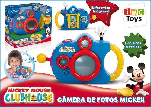 IMC Toys 180482 Mickey Mouse Club House - Cmara de fotos de juguete ...
