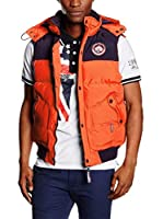 Geographical Norway Chaleco Vortex (Naranja)