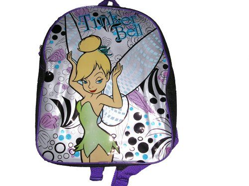 Disney Fairies Tinkerbell School Size Backpack - 1