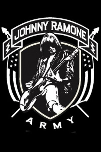 Licenses Products Johnny Ramones JRA Logo Magnet - 1
