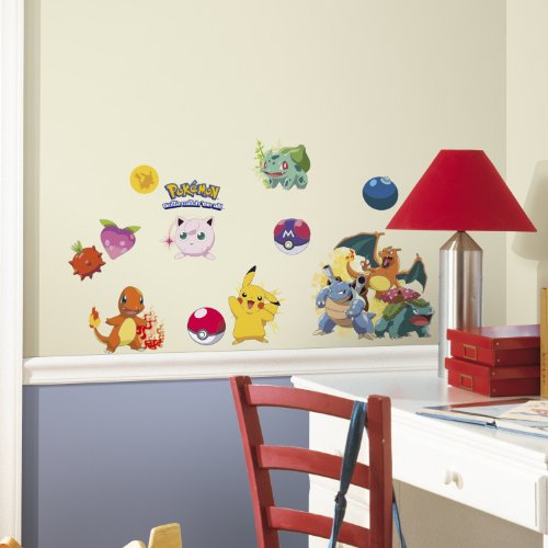 RoomMates RMK2535SCS Pokemon Iconic Peel and Stick Wall Decals - 1