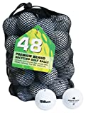 Second Chance Wilson Pro Staff 48 Quality Lake Golf Balls (Grade A)