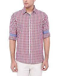 Deezeno Slim Fit Checkered Shirt
