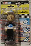 Bobble Dobbles Mark Martin Mini Bobblehead Doll Series 1 Pfizer NASCAR