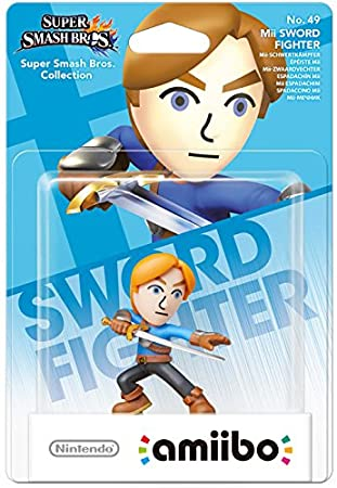 amiibo Smash Mii Sword Fighter (Nintendo Wii U/3DS)