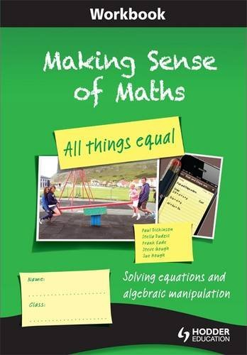 Making Sense of Maths: All Things Equal (Eurostars) (Making Sense Math compare prices)