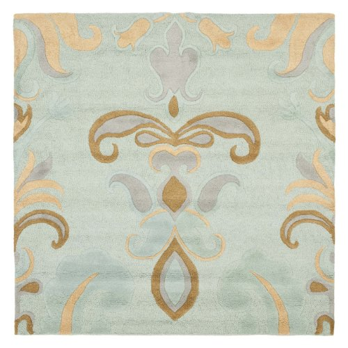 8 ft. Rug in Light Blue