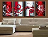 Abstract Wall Canvas Art Sets Painting for Home Decoration 100% Hand Painted Oil Painting Modern Art Large Canvas Wall Art Free Shipping 4 Piece Canvas Art Unstretch and No Frame