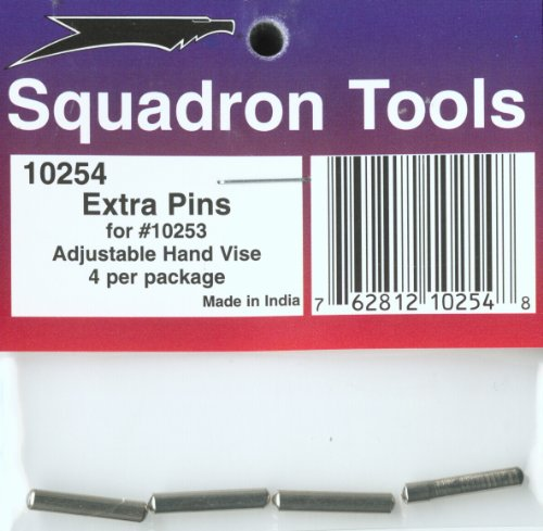 Squadron Products Extra Pins for Adjustable Hand Vise