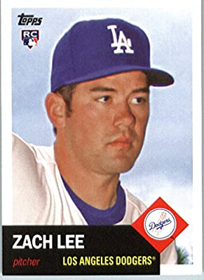 2016 Topps Archives #93 Zach Lee Los Angeles Dodgers RC Baseball Rookie Card