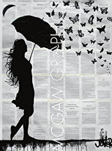 Butterfly Rain By Loui Jover Art Print Poster 14