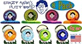 Crazy Aarons Thinking Putty Mini Tin Complete Bundle Gift Set - 8 Pack