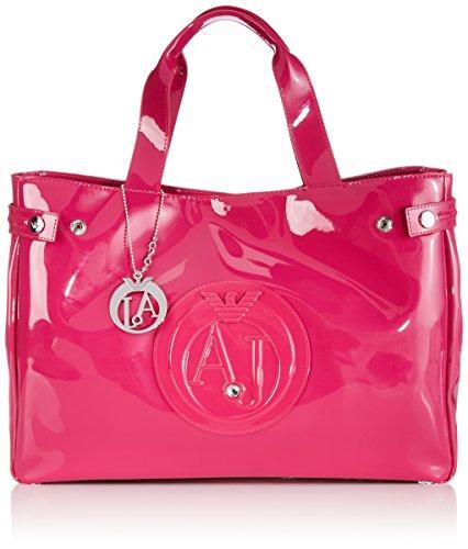 armani-jeans-shoes-bags-de-0529155-bolsa-de-la-compra-de-piel-sintetica-mujer-color-rosa-talla-38x28