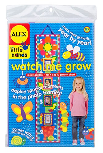 ALEX Toys Little Hands Watch Me Grow Chart