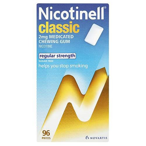 Nicotinell Chewing Gum 2mg Classic - 96 Pieces