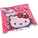 """Tube polaire - Cache-cou / Snood - """"Hello Kitty"""" ou """"Minnie"""" avec masque en carton en cadeau - 4 à 8 ans"""
