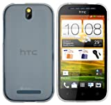 mumbi TPU Skin Case HTC One SV Silikon Tasche H�lle - Silicon Protector Schutzh�lle transparent weiss