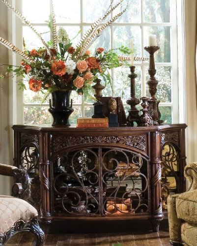 Cheap Console Table by AICO – Deep English Tea (N76260-57) (N76260-57)