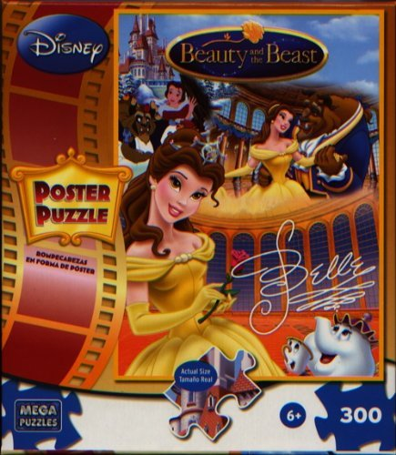 Cheap Mega Brands Disney Princess Belle 300 Piece Poster Puzzle (B004HLU2C4)