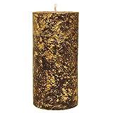 ST-EVAL-Duftkerze-Gold-marmorierte-Stumpenkerze-Glut-Deep-Moschus-Perfekt-Rustikal-Weihnachten-Geschenk-oder-Esstisch-Funktion