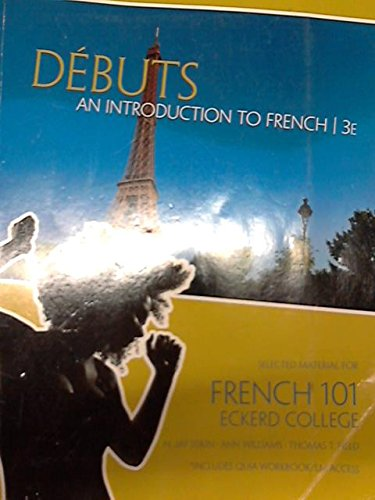 Debuts: An Introduction to French