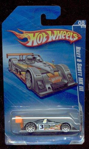 HOT WHEELS 2010-156/240 HW Racing Riley & Scott MK III 1:64 SCALE - 1