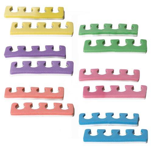 NBM Zehenspreizer Set, 1er Pack (1 x 12 Stück)