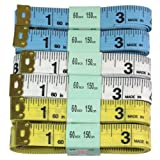 """HTS 103D3 6pc. 60""""/150cm Sewing Tape Measure"""