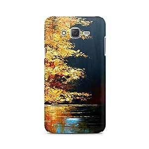 Mobicture Pattern Premium Designer Mobile Back Case Cover For Samsung J1 2016 Version