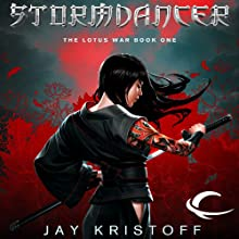Stormdancer: The Lotus War, Book One (       UNABRIDGED) by Jay Kristoff Narrated by Jennifer Ikeda