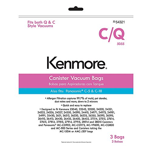 Kenmore Canister Vacuum Bags (Kenmore White Vacuum compare prices)