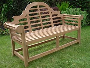 Your price furniture marlborough lutyen banc de jardin en for Banc de jardin anglais
