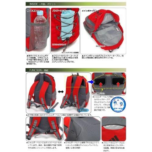 adidas アディダス ADJ BP バックパック DO190 (Z51111 ブラック/メタリックシルバー)