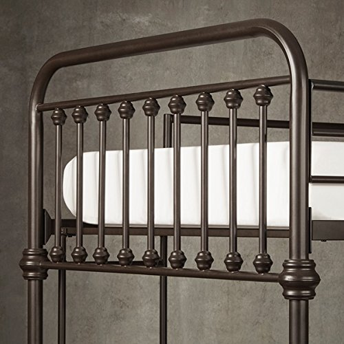 Bunk Bed Frame Wrought Iron Cast Metal Vintage Antique Rustic