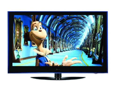 LG 50PS6000 50-inch Widescreen Full HD 1080p Plasma TV with Freeview - Black / Indigo Blue Trim