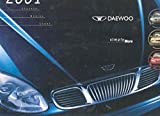 2001 Daewoo Full Line Sales Brochure