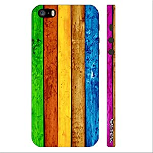 Enthopia Designer Hardshell Case Queue Up Back Cover for Apple Iphone 5,5s,SE