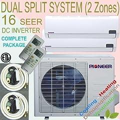 Pioneer Ductless DUAL ZONE Multi Split INVERTER Air