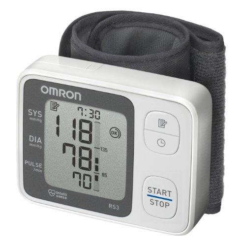Omron RS3 Elektronisches Blutdruckmessgerät für das Handgelenk thumbnail