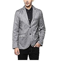 Yepme Men's Grey Blended Blazers - YPMBLZR0012_XXL
