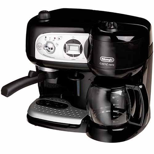 Delonghi BCO264B Cafe Nero Combo Coffee and Espresso Maker ...