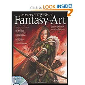 Masters and Legends of Fantasy Art: Techniques for Drawing, Painting and Digital Art from 36 Acclaimed Artists by Brian Froud, Boris Vallejo, Julie Bell and Editors at Future Publishing